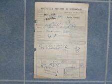 Chemin Fer de l' EST Gare VRIGNE-aux-Bois Jardinier Massard FORGES ARDENNES 1924