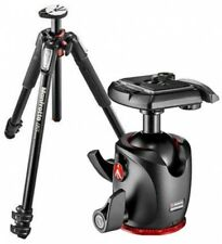 Aluminum Tripod Ball Head Aluminum Handle Carrying Manfrotto 3 Section 15.4 Lb