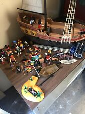 PLAYMOBIL LARGE PIRATE SHIP BOAT SET 5135 Play Toy
