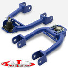 Blue Adjustable Front Upper Control Arms Camber Kit For 1992-1995 Honda Civic Eg