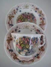 Royal Doulton Brambly Hedge Stagioni Autunno TRIO TAZZA PIATTINO & PIASTRA Tea Party Set
