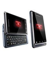 Motorola Droid A855 - White Black Verizon Prepaid Phone Page Plus Wireless