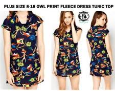 Animal Print Round Neck Boho Dresses for Women