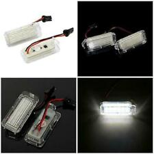 2 LED Licence Number Plate Light fit Ford Fiesta Focus C-Max Kuga Mondeo Galaxy