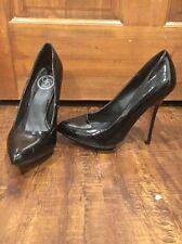 Jessica Simpson Platform Pumps Heels Patent Leather Black Size 7 M Women's Shoes