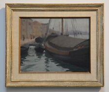 GEORGE SEIDENECK (1885-1972) OIL PAINTING ~ LISTED CALIFORNIA ARTIST~ DATED 1912