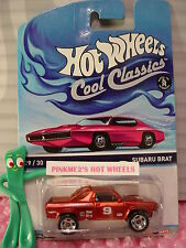 2014/2015 Hot Wheels #29 Cool Classics SUBARU BRAT✰Red;9 BELL✰Magenta-pink-Otto✰