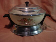 Vintage Homer Laughlin USA Oven Serve Baking DIsh 3-Pc Handy Andy Casserole