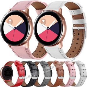 For Garmin Vivomove HR/Vivoactive 3 /Venu Strap Genuine Leather Strap Watch Band