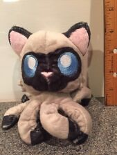 "Tentacle Kitty Little One Siamese 4"" Stuffed Plush Octopus Cat"