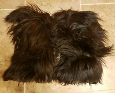 LOTTO Skywalk Snow Boots Long Goat Hair Yeti Boots Italy Sz US 5-6 EU 36