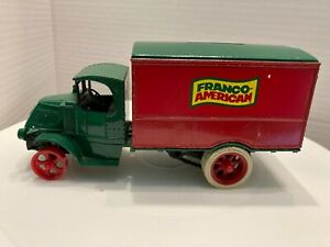 Franco-American Promotional Delivery Truck Bank by Ertl