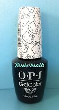 OPI GelColor HELLO KITTY GC H80 KITTY WHITE pearl white gel color polish RARE