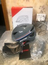 Open Box Wantdo Specialized Bike Safety Bicycle W/ Removable Visor Grey M/L