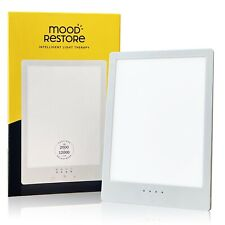 Mood Restore - Light Therapy Lamp (1-Pack) 12000 Lux UV-Free Touch Lamp