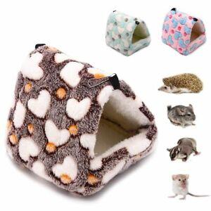 Soft Pet Warm Bed Warm House Small Animal Hedgehog Hamster Rat Hammock Pad Nest