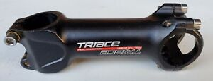 """Triace Bicycle Stem 110mm x 6 Degrees Black Alloy 31.8mm Bar Clamp 1 1/8"""""""