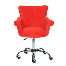 Microfiber Beauty Nail Salon Chair Bar stool Spa Vanity Seat Swivel Commercial