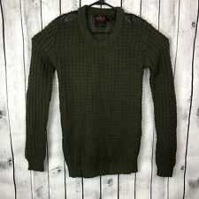 Yoki Knitted Sweater Women Size M With Metal Spike Embellishments Shoulder Studs