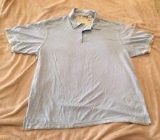 """ME Sport Lightweight Mens Collared Shirt Light Blue XL 46"""" New"""