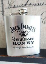 New listing Jack Daniel'S Honey Stainless Steel 6Oz handy Flask New