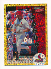 Mark McGwire 1999 Ultimate Victory Parallel 1/1 Missing Serial Number #173