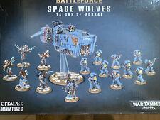 Warhammer 40,000 Space Wolves Talons of Morkai Battleforce - New 40K