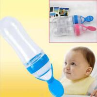 Baby Silikon Fütterung Flasche Löffel Nahrung Getreide füttern Flasche 90m XPW