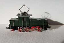 TRAIN HO Märklin 3001 Loco Électrique CE800 E6302 verte 2 rails - excellent état