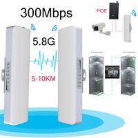 5000M Long Range 300Mbps 5.8G Outdoor Access Point CPE WiFi Bridge Wireless AP