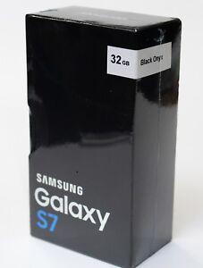 Samsung Galaxy S7 SM-G930 32GB 4G LTE Black Onyx (Verizon) Smartphone New Other