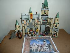 LEGO HARRY POTTER  4709 HOGWARTS CASTLE COMPLETE ALL 9 FIGS INSTRUCTIONS NO BOX