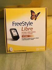 Freestyle libre diabete glicemia lettore italiano nuovo sigillato mai usato