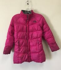 The North Face 550 Down Insulated Jacket Girls Size L 14-16 Pink