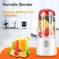 Portable 500ML Mixer Rechargeable USB Juicer Fruit Blender Juicer Machine