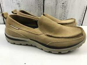 Skechers Relaxed Fit loafers boat shoes leather Size US 7M EUR 41 UK 6 AU 6 USED