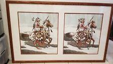 "Bev Doolittle Guardian Spirits Pair Framed 53""X32"""