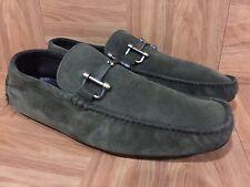 RARE🔥 Bally Leather Suede Horsebit Slip On Driving Moc Sz 7.5 Men's Shoes