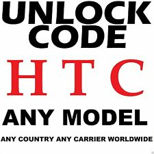 HTC ANY MODEL Premium Factory Unlock Code Service ANY CARRIER WORLDWIDE
