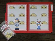 Subtraction From 11 Kinder First Math Center File Folder Game Teacher Resource