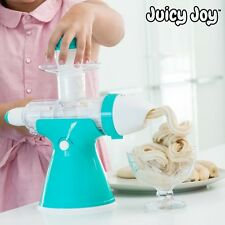 MACHINE À JUS ET GLACES AVEC MANIVELLE JUICY JOY - PRIX OFFICIEL : 78 EUROS