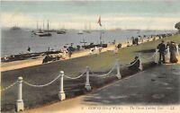 POSTCARD    ISLE  OF  WIGHT   COWES   The  Green  Looking  East   LL  8