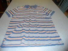 Chap's men's size M multi color stripe pullover shirt