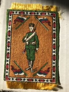 Antique Tobacco Felt Soldier