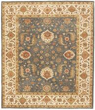 """Hand-knotted  indian rug. 8'1""""x 9'5"""""""