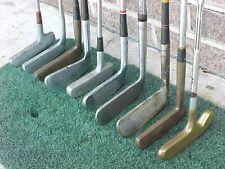 Lot 10 Blade RH Putters Golf Clubs Wilson Louisville Spalding Powerbilt Titleist
