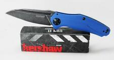 Kershaw Natrix Knife Blue G10 Handle Blackwash Assisted Plain Edge 7007BLUBW