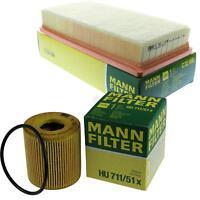 MANN-Filter Set Ölfilter Luftfilter Inspektionspaket MOL-9693307
