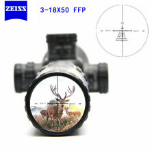 Carl Zeiss 3-18X50 FFP Rifle Scope Illuminated Tactical Scopes Mil-Dot Reticle