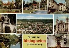 88250 Weingarten  - Panorama - Benediktiner-Abtei - Basilika St.Martin - ca.1970